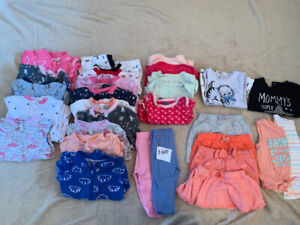 Various Size  Baby Girl Clothes