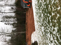 Tree cutting, Lot clearing, Excavation