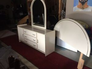Dresser, mirror and headboard Strathcona County Edmonton Area image 5
