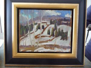 Peinture de Léo Ayotte, 8 X 10