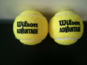 Green Tennis Balls - Both for 5$ - New/Unused