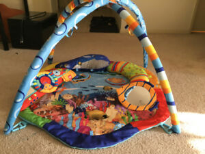 Baby activity / play mat - Under Sea