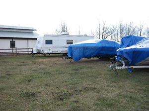 Out Door Storage For trailers ,Boat, South Side, Close In, Gated