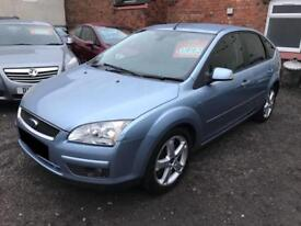 Ford Focus 1.8 Ghia - 2007 Blue - Diesel