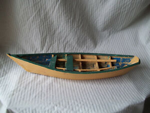 Lunenburg Dory - Wood Model