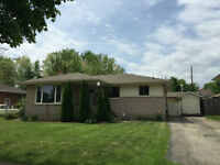 JUST RENOVATED BUNGALOW! IN Welland with an In-Ground Pool..