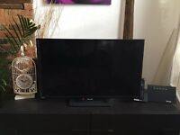 32 inch sharp TV - no remote