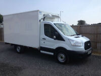 2014 FORD TRANSIT 2.2TDCI 98 BHP FRIDGE/FREEZER VAN WITH OVER NIGHT STANDBY +VAT