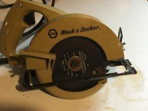 "Black & Decker 5 1/2"" Compact Circular Saw"