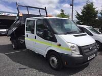 Ford Transit 2013 13 Reg 2.2TDCi 100 Bhp Double cab t350