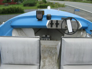 15 ' speed boat and trailer