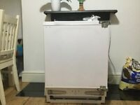 Bush Integrated Freezer - Used in Good Condition
