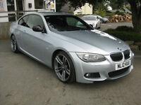 2012/12 BMW 320d 184bhp M Sport Plus Coupe SATNAV~LEATHER~XENONS.