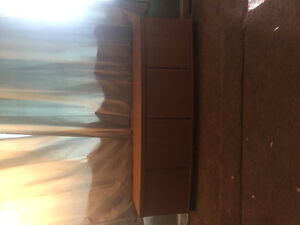 Bench like wall table kind of thing with storage 25$