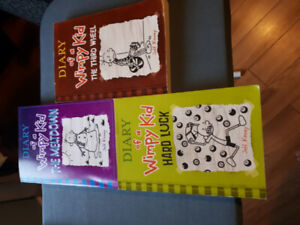 Books--Diary of a Wimpy Kid! Big Nate etc