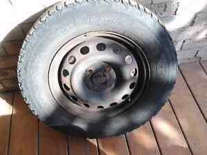 Winter Tires on rims Cambridge Kitchener Area image 3