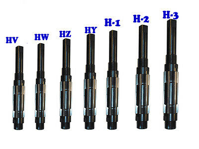 Adjustable Hand Reamer Set Of 7pcs Hv To H3 14 - 1532 Premium Quality
