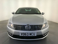 2013 VOLKSWAGEN CC GT BLUEMOTION TECHNOLOGY TDI DIESEL COUPE SERVICE HISTORY