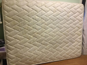 queen mattress and low profile boxspring free delivery