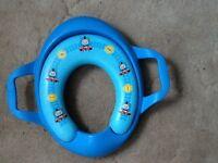 Child's toilet training seat plastic