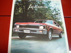 1969 Acadian sales brochure