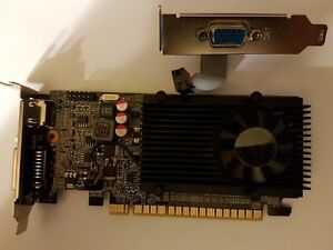 EVGA Gt 610 2gb DDR3 Low Profile Card