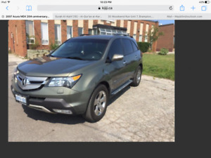 Low Millage Acura MDX (The 20th Anniversary Edition, Top Model)