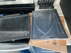 $50 for 3 digital led signs for sale. Two brand new in box