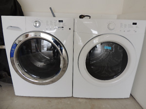 Washer & Dryer - new from model home.