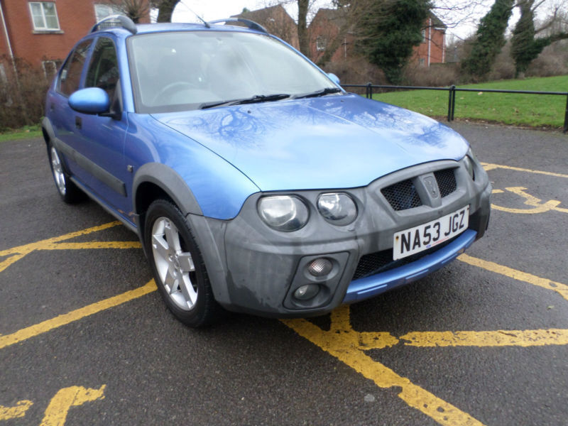 2003 53 Rover Streetwise 1 4 Se 103v Ps Alloys Low 86k