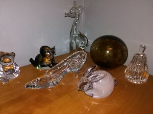Vintage Crystal Art Glass - your choice $5