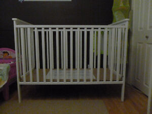 White Stork Craft Crib