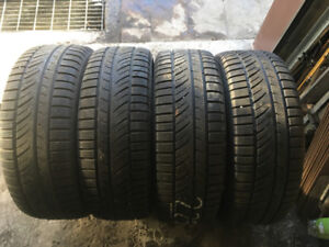 4 PNEUS D'HIVER / 4 WINTER TIRES 225/60/16 WINTER HERO