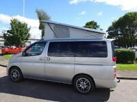 Nissan Elgrand Elgrand Campervan