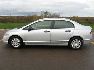 2007 Honda Civic DX-G Sedan VERY LOW MILEAGE