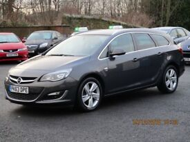 Vauxhall Astra SRi 2.0CDTi 16v S/S (grey) 2013