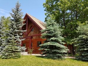 Grand Bend-Unique Custom 4 seasons Log Home RENTAL