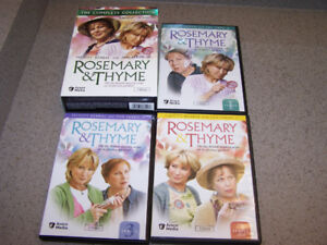 ROSEMARY & THYME - COMPLETE COLLECTION 7 DVDs British Mystery
