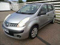 2007 Nissan Note 1.4 16v S 5Door Silver 85K Full Mot and Service Excellent Cond