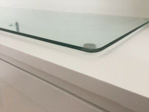 Custom Glass for Sideboard