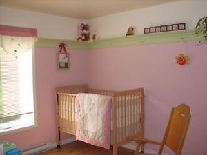 Literie de bébé filles  La Libellule rose- motif coccinelle