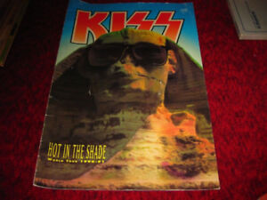 KISS Hot In The Shade World Tour 1990-1991 Tour Book