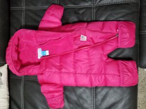 Columbia size 0-3 months baby snowsuit