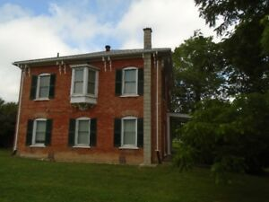 BEAUTIFUL OLDER 2 STOREY BRICK HOME 10 MINUETS FROM LAKE ERIE