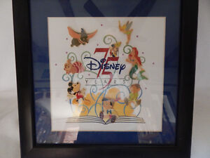 Disney 75th Anniversary Framed Collector Trading Pin Set LE Cambridge Kitchener Area image 4