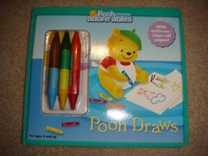 Pooh Drawing book