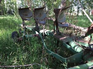 Estate Sale -JD Plow/ Oliver Tractor/Stock Racks/Gas Tank  Stand