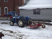 Ford 3000 diesel w/loader and snow bucket
