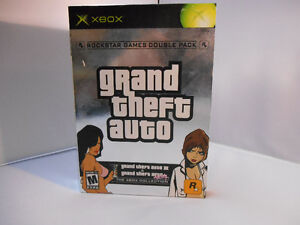 GRAND THEFT AUTO DOUBLE PACK  XBOX Original