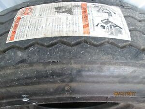 One Pair New 15 In. Tires Retreads 8.25R15T. Truck - Trailer